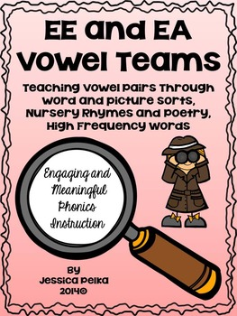 Vowel Pair EE and EA - Phonics Instruction Using SORTS, PO