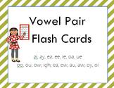 Vowel Pair Flash Cards
