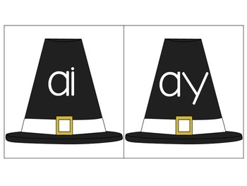 Thanksgiving Vowel Pair Sort for AI and AY