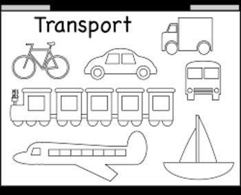 Vowel Pair Transportation Smart Notebook