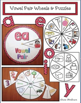 Vowel Pair Wheels and Puzzles