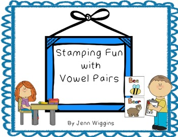 Vowel Pair Word Work (ea and ee, ai and ay)