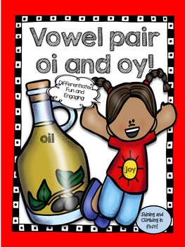 Vowel Pair oi and oy - Word Work!