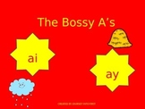 Vowel Pairs (Digraphs) AI and AY PowerPoint