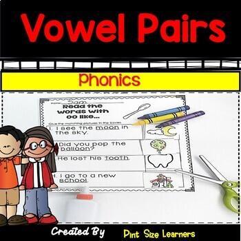 Vowel Pairs Activities