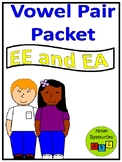 Vowel Pairs - EE and EA - Lesson Packet