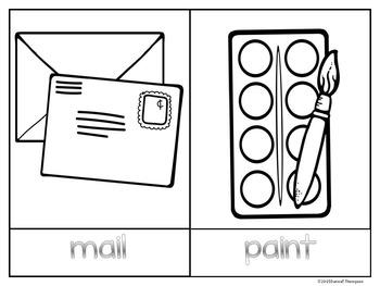 "Phonics Hopscotch Game ""Vowel Pairs Set One"" (Vowels)"