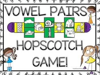 "Phonics Hopscotch ""Vowel Pairs Set One"" (Game)"