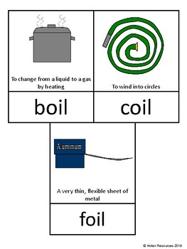 Vowel Pairs - OI and OY - Lesson Packet