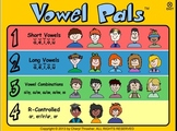 Vowel Pals - All Vowel Sounds with Activities and Songs for Activboards