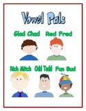 Vowel Pals - Short Vowels - Posters and Lesson Plans