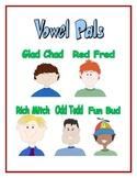 Vowel Pals - Short Vowels - Posters and Lesson Plans