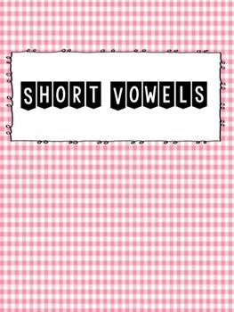 Short Vowel Pattern Card Game