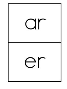 Vowel Pattern Cards