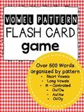 Vowel Pattern Flash Cards Bundle