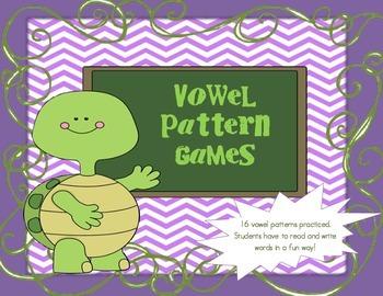 Vowel Teams 16 Games