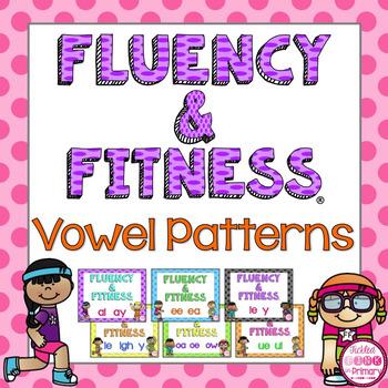 Vowel Patterns Fluency & Fitness Brain Breaks Bundle