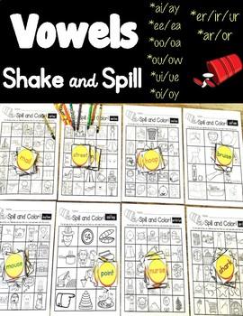 Vowel Patterns Shake & Spill!