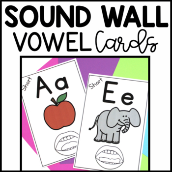 Vowel Phoneme Sound Wall Posters