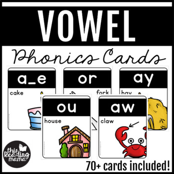 Vowel Phonics Cards