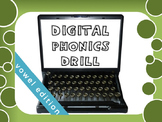 OG Phonics Digital Drill VOWELS