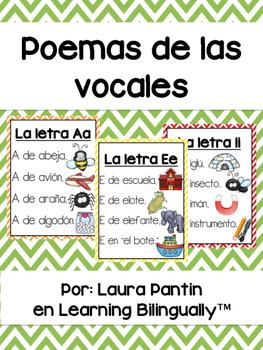 Vowel Poems in Spanish