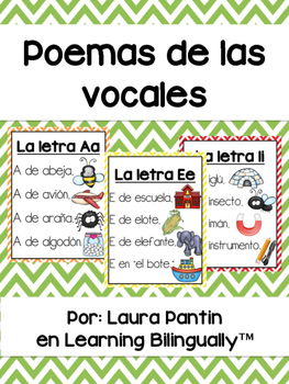 Vowel Poems in Spanish