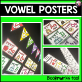 Vowel Posters! Plus Two-Sided Bookmark!