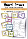 Vowel Power 1 & 2 - CVC & CVCC Medial Sound Substitution P