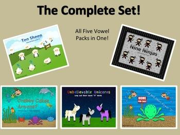 Vowel Power Pack (All Five Vowel Packs in One)