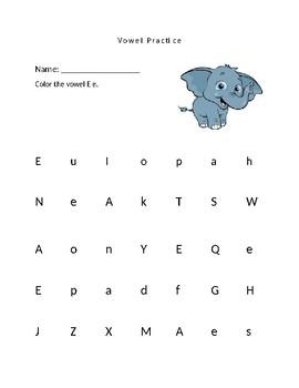 Vowel Practice