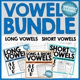 Vowel Practice BUNDLE - short and long vowel passages and