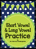 Vowel Practice For Little Learners