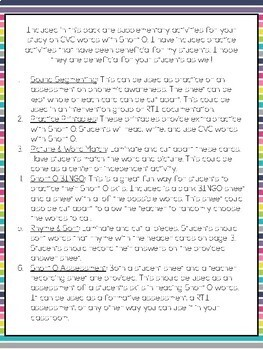 CVC Word Practice {Short O}