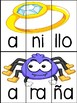 Vowel Puzzles in Spanish