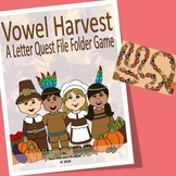 Vowel Recognition File Folder Game