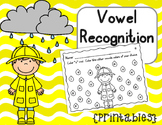 Vowel Recognition Printables {Rainy Days}