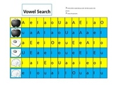 Vowel Recognition Worksheet