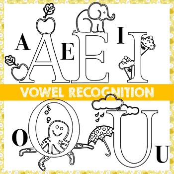 Vowel Recognition and Letters AEIOU Deconstruction with Extension Activities