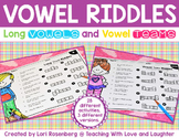 Vowel Riddles {Long Vowels, Vowel Teams, r-Controlled Vowels}