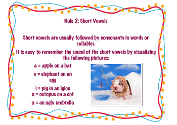 Vowel Rules