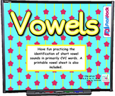 Vowels SMART BOARD Game
