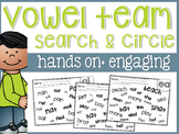 Vowel Team Search and Circle