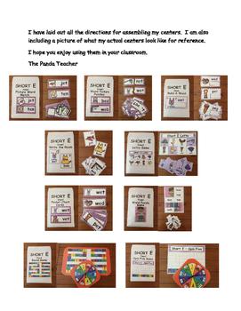 Short Ee Literacy Centers