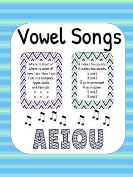 Vowel Songs