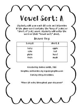 Vowel Sort: A