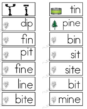 Vowel Sort Activity and Mat