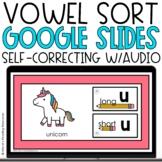 Vowel Sort Google Slides | Long and Short Vowels