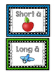 "Vowel Sort--Long & Short ""A"" (Color & Blackline)"