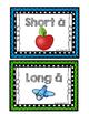 """Vowel Sort--Long & Short """"A"""" (Color & Blackline)"""